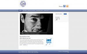 A screenshot of the St. Vincent de Paul - Jasper website redesign completed by IdeaFusion Media.