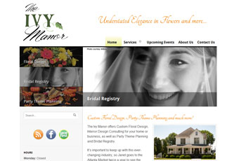 The Ivy Manor Website Redesign Thumbnail