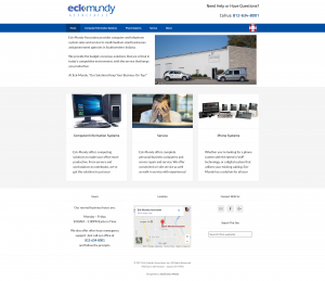 Eck-Mundy Website Screenshot