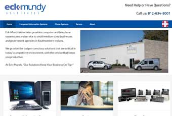 Eck-Mundy Website Design Thumbnail